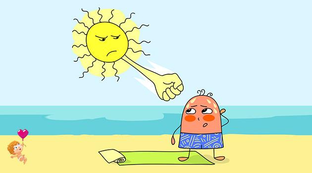 тепловой и солнечный удар: что это такое