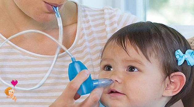 как чистить нос новорожденному ребенку