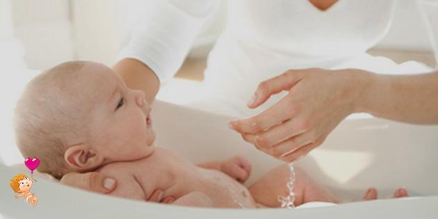 правильное купание новорожденного