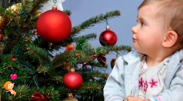 как обезопасить малыша в новый год